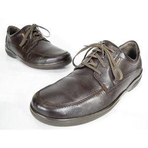 Mephisto Agazio Men's Brown Leather Derby Oxfords